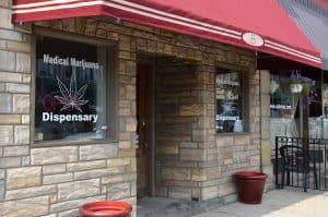 Oklahoma dispensary logo design and website design